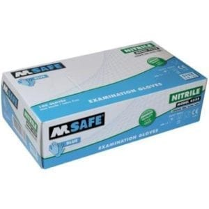 M-Safe 4525 disposable nitril handschoen