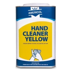 Americol hand cleaner Yellow