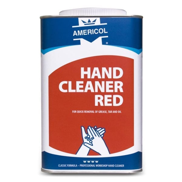Americol hand cleaner Red