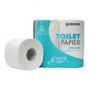 Toiletpapier 2 laags Cellulose 230040